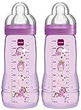 MAM Easy Active Baby Bottle 330ML, Biberon, confezione doppia