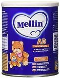 Mellin AD Latte Dietetico Bambini per Problemi Gastrointestinali, in Polvere - 400 gr