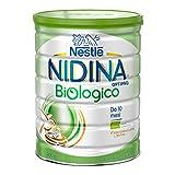 Nestlé Nidina Biologico Latte di Proseguimento in Polvere Latta, 10 Mesi, 800 g