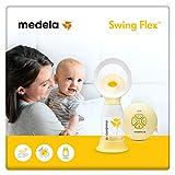 Medela, Tiralatte Elettrico Singolo Swing Flex, Più Latte in Meno Tempo, Comfort, Regolabile 11 Livelli, Tecnologia 2-Phase