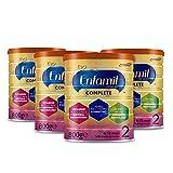 4x Enfamil Premium Complete 2 latte di proseguimento 800g – per bambini dai 6 ai 12 mesi.