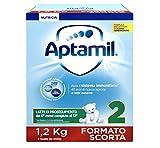 Aptamil 2 Latte di Proseguimento in Polvere - 3 Confezioni da 1200 gr - Totale: 3600 gr