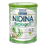 Nestlé Nidina Biologico Latte di Proseguimento in Polvere Latta, 6 Mesi, 800 g