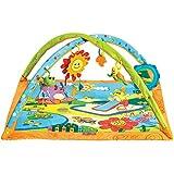 Tiny Love Gymini Sunny Day Palestrina evolutiva neonato, palestrina per bambini con Tappeto Gioco con Archi Gioco Musicali, arancione