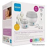 MAM 69681700 - Sterilizzatore elettrico 6 in 1 per biberon e accessori, colore: Grigio
